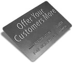 Example of Customer Loyalty Card