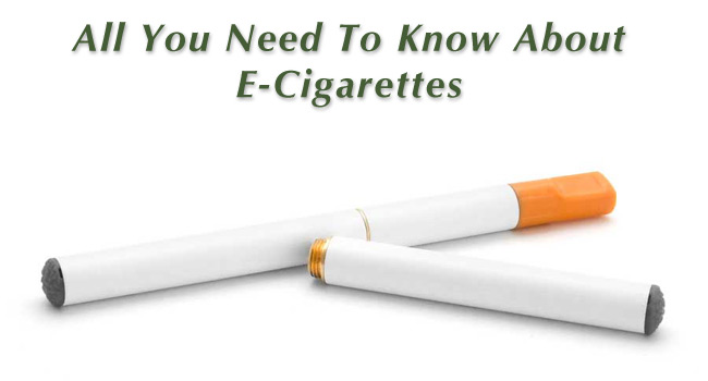 All About E-Cigarettes