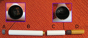 Inside E-Cigarette